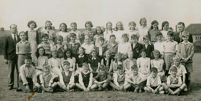 Enlarged School Photo